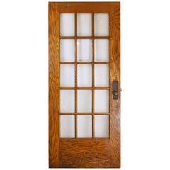 Chicken Wire School Door, Two Available
