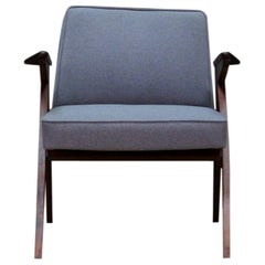"Chierowski Armchair ""Bunny"" Retro Midcentury Vintage 1960s Gray"