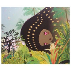 "Chiho Aoshima's ""Building Head Chameleon"" Limited Edition Signed Japanese Print"