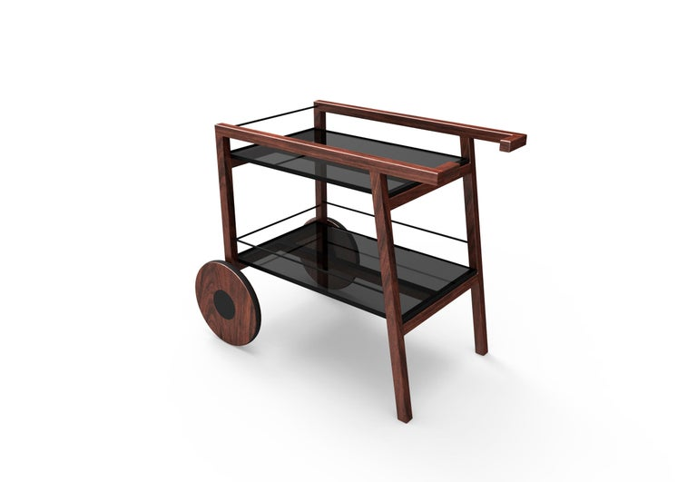 Chihuahua Tray Table or Bar Cart, Contemporary Mexican Design In New Condition For Sale In Mexico City, MX
