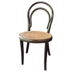 Child Chair by Thonet Stamped and Labeled, 1890