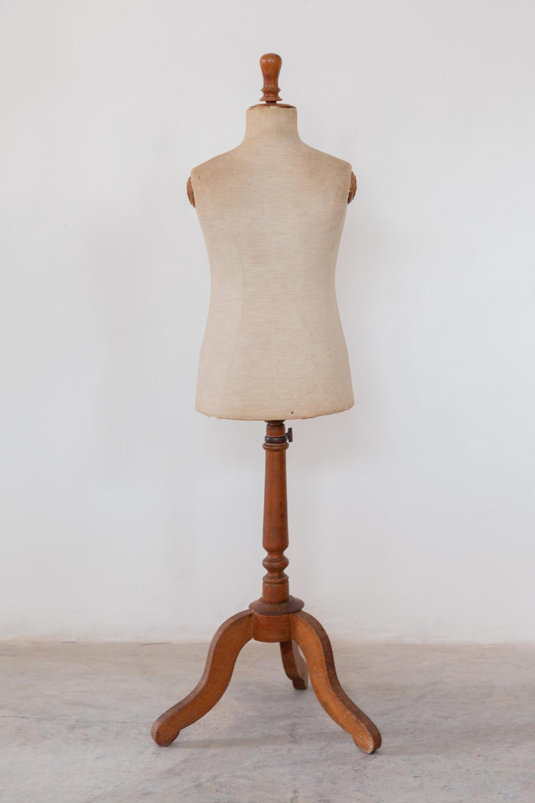 Hand-Crafted Child Dressing Mannequin, France For Sale