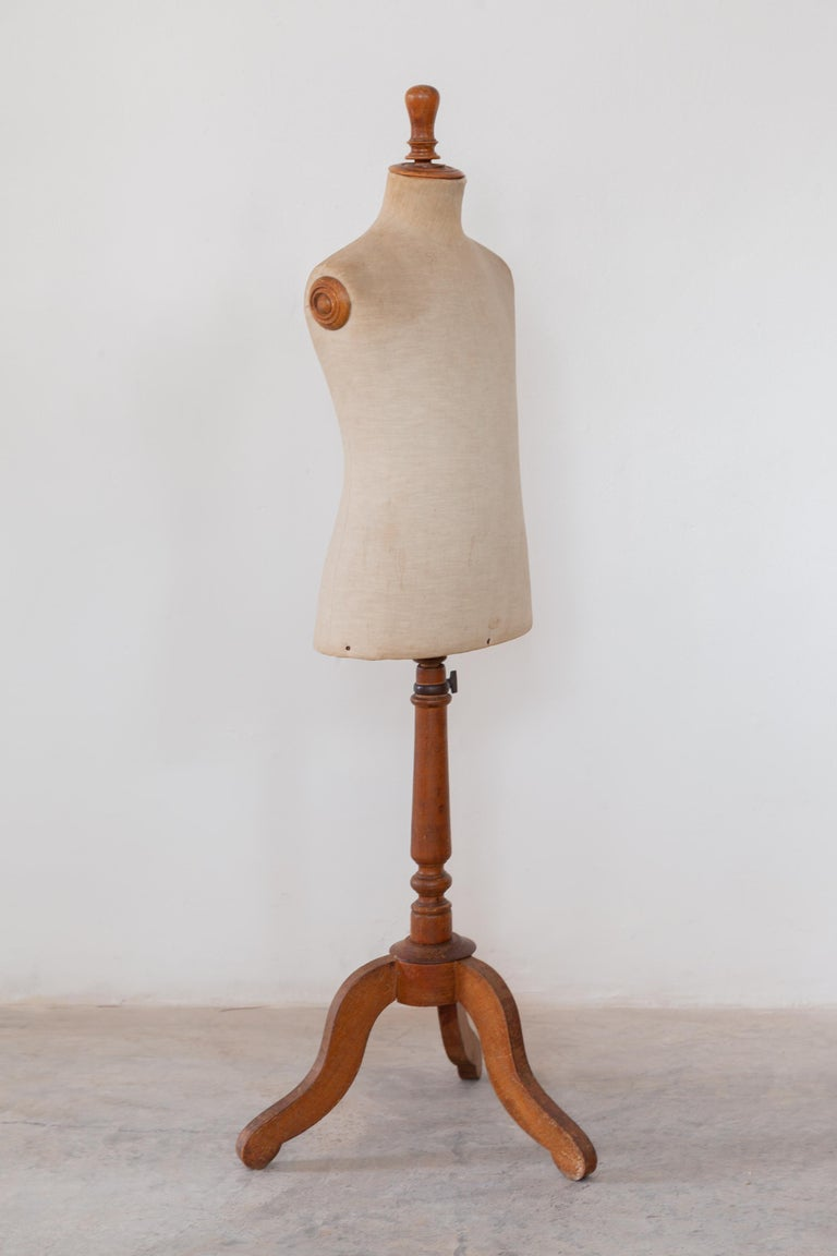 Late 19th Century Child Dressing Mannequin, France For Sale
