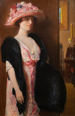 Fire Opals (Lady in Furs: Portrait of Mrs. Searls)