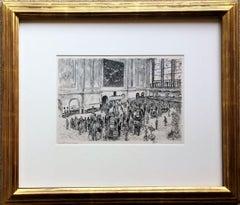 Floor of the Stock Exchange