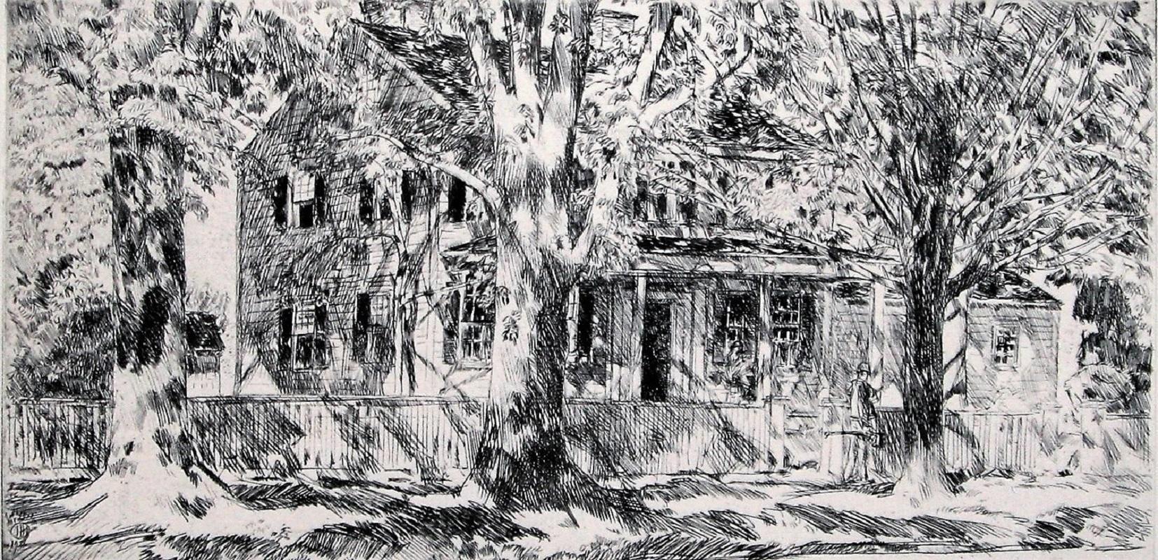 House on the Main Street, Easthampton.