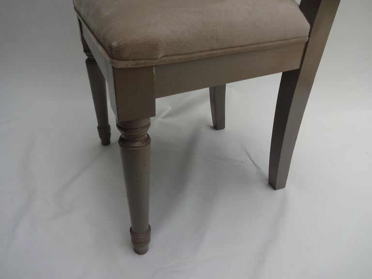 French Children Chair Upholstered For Sale