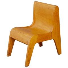 Children Italian Chair Prototype by Pierluigi Ghianda, 1960s