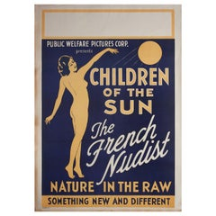 Children of the Sun 1934 U.S. One Sheet Film Poster
