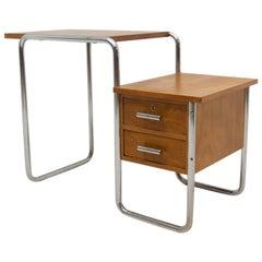 Children Tubular Steel Writing Desk B-91 Designed by Marcel Breuer