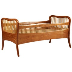 Childrens Bed, Anonymous, Style of Peder Moos, by Cabinetmaker Ove Sørensen