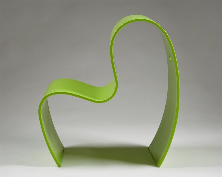 Scandinavian Modern Children's Chair, Lilla M. Designed by Caroline Schlyter, Sweden, 1990s For Sale