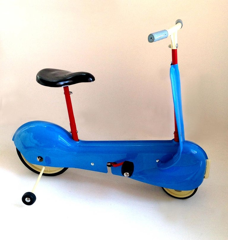 Childs Mobo Streamline Scootabike Pedal Car C 1959 For