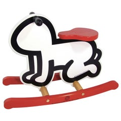 Child's Rocker after Keith Haring