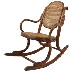 Child's Thonet Rocking Chair