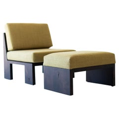 Chile Modern Lounge Chair and Ottoman