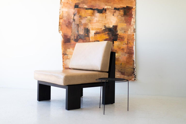 American Chile Modern Side Chair For Sale