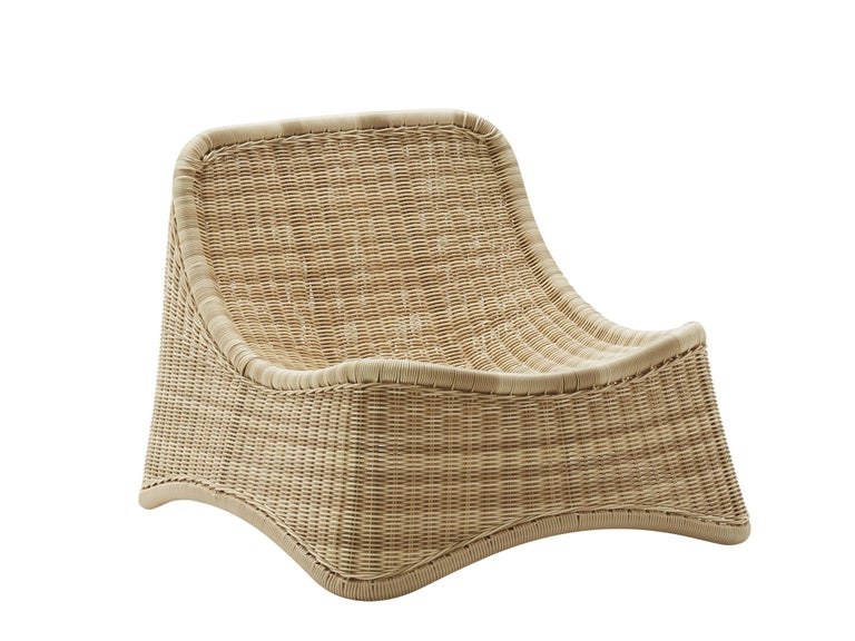 Chill Lounge Chair and Ottoman by Nanna Ditzel, New Edition In Excellent Condition For Sale In Courbevoie, FR