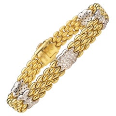 Chimento 18 Karat Gold and Diamond Bracelet