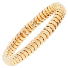 Chimento Armilas Ridge Curve Bangle Bracelet