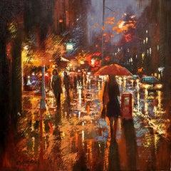 LAFAYETTE STREET, Painting, Oil on Canvas