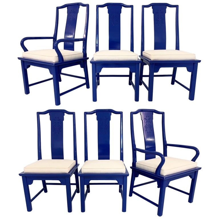 Chin Hua Asian Dining Chairs By Raymond Sabota For Century Furniture For Sale At 1stdibs