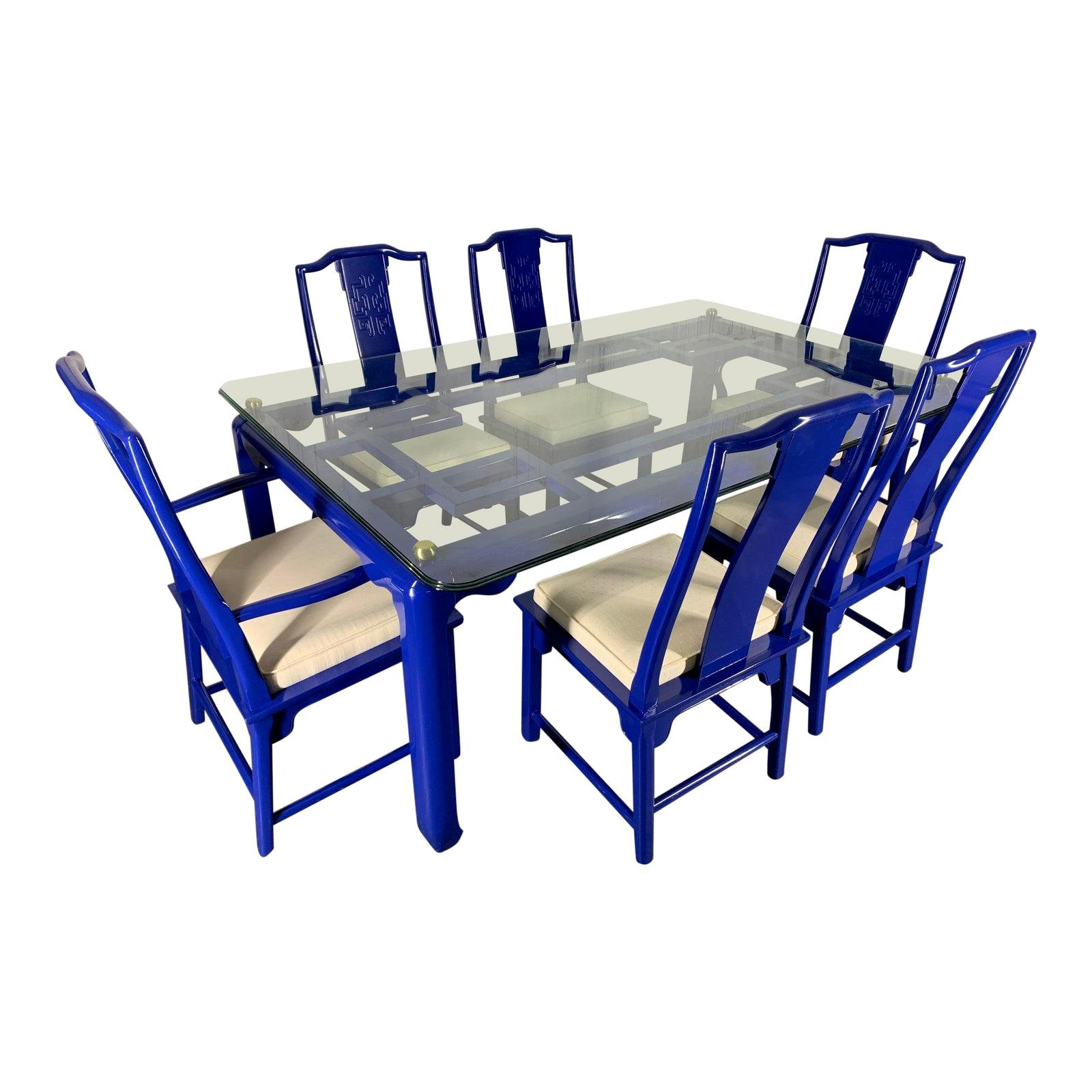 Chin Hua Asian Dining Set by Raymond Sabota for Century Furniture