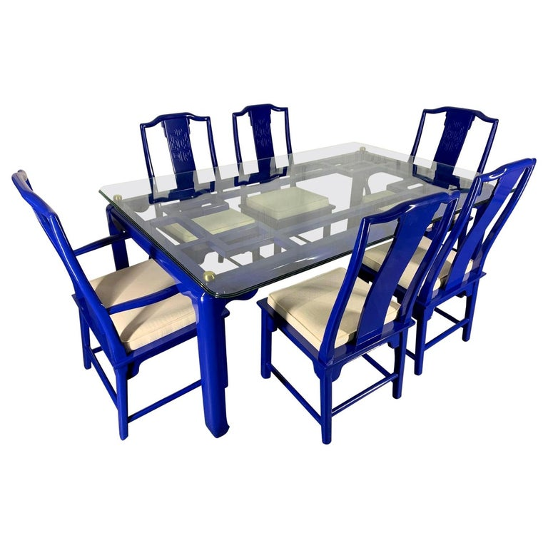 Chin Hua Asian Dining Set by Raymond Sobota for Century Furniture For Sale