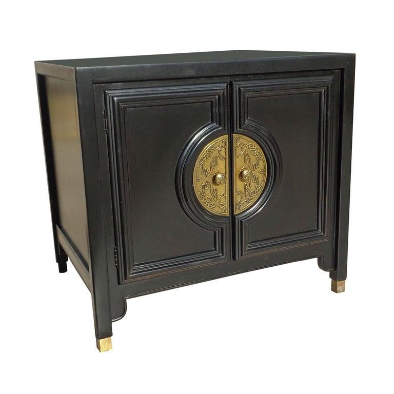 Brass Chin Hua Dresser Credenza by Century Furniture For Sale