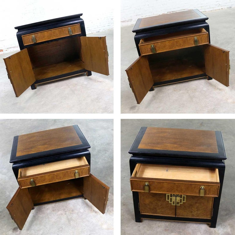 Century Furniture Sale: Chin Hua Nightstand End Table Cabinet By Raymond K Sobota