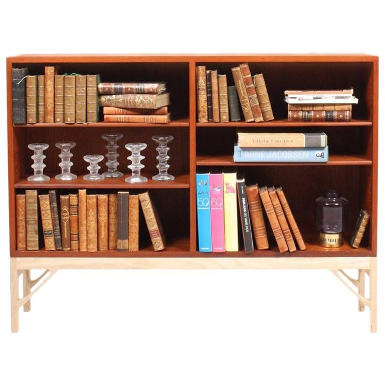 """""""China"""" Bookcase in Teak and Oak by Børge Mogensen For Sale"""
