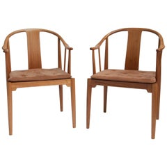 China Chair by Hans J. Wegner, Set of Two