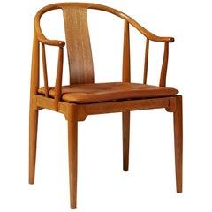China Chair Designed by Hans J. Wegner for Fritz Hansen, Denmark, 1980s