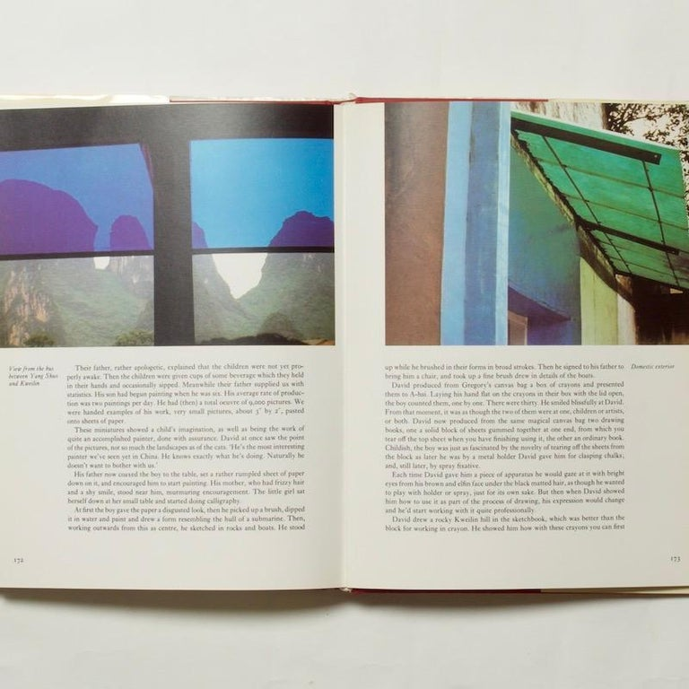 American China Diary - David Hockney & Stephen Spender, 1982 For Sale