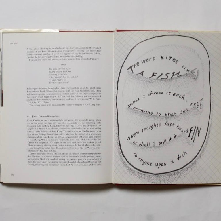 20th Century China Diary - David Hockney & Stephen Spender, 1982 For Sale