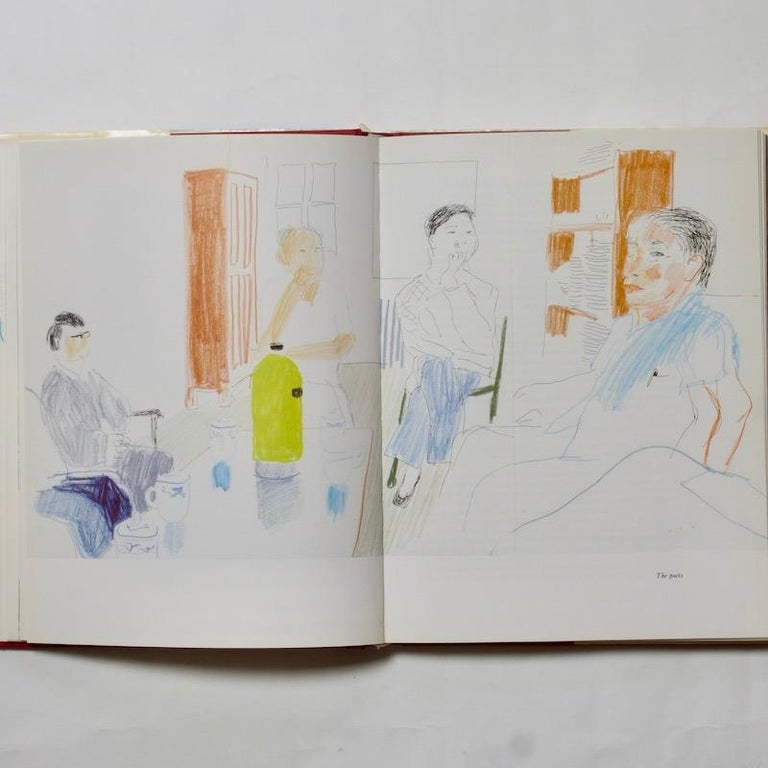Paper China Diary - David Hockney & Stephen Spender, 1982 For Sale