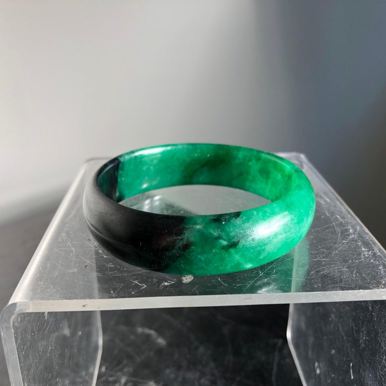 China Fine Antique Jade Bracelet Pendant, Qing Dynasty For Sale 7