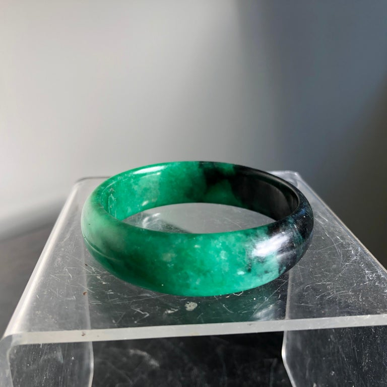China Fine Antique Jade Bracelet Pendant, Qing Dynasty For Sale 8