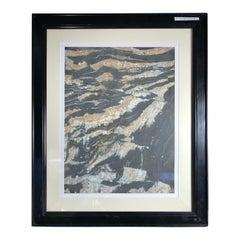 "China Moonlight Mountain Peaks  Extraordinary Natural Stone ""Painting"""
