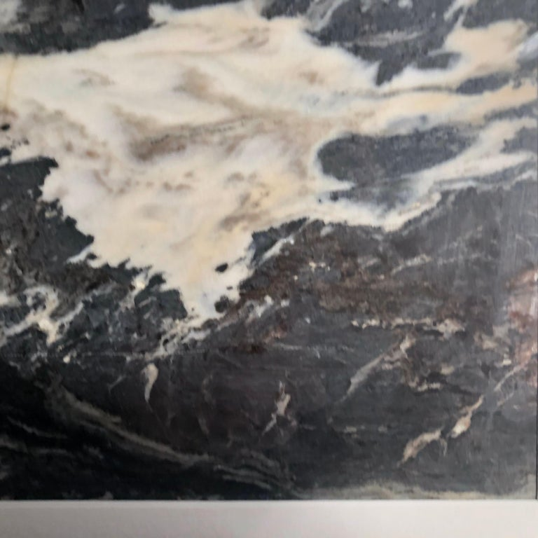 Marble China Water and Rock Shoreline Extraordinary Natural Stone