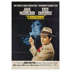 'Chinatown' 1974 German A1 Film Poster