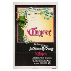 """Chinatown"" 1974 U.S. One Sheet Film Poster"