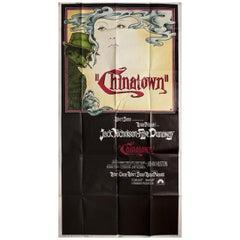 """Chinatown"" 1974 U.S. Three Sheet Film Poster"