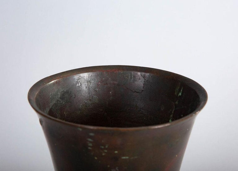 Chinese 18th Century Bronze Vase For Sale 1