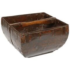 Chinese 19th Century Rice Basket