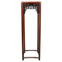 Chinese 19th Century Tall Stand