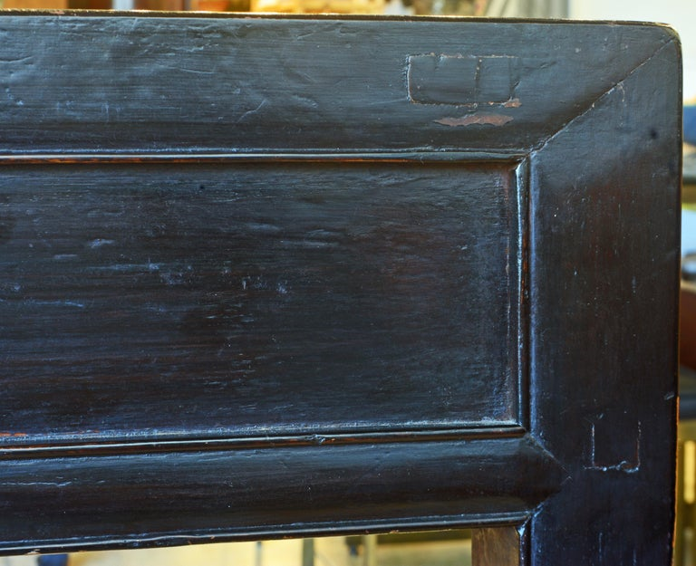 Chinese 7 Drawer Lacquered Console Table, 8 Feet Plus Long, Restored 2