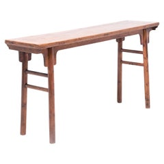 Chinese Altar Table in the Ming Manner, circa 1850