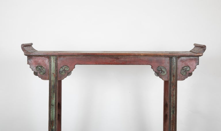 Asian Chinese Altar Table For Sale