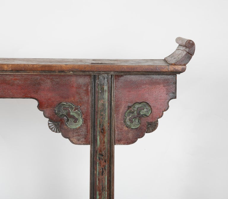 Mid-18th Century Chinese Altar Table For Sale